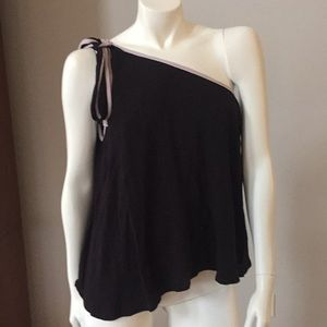 New with tags FREE PEOPLE one shoulder top SM
